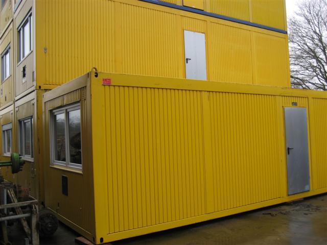 Diverse containers en units