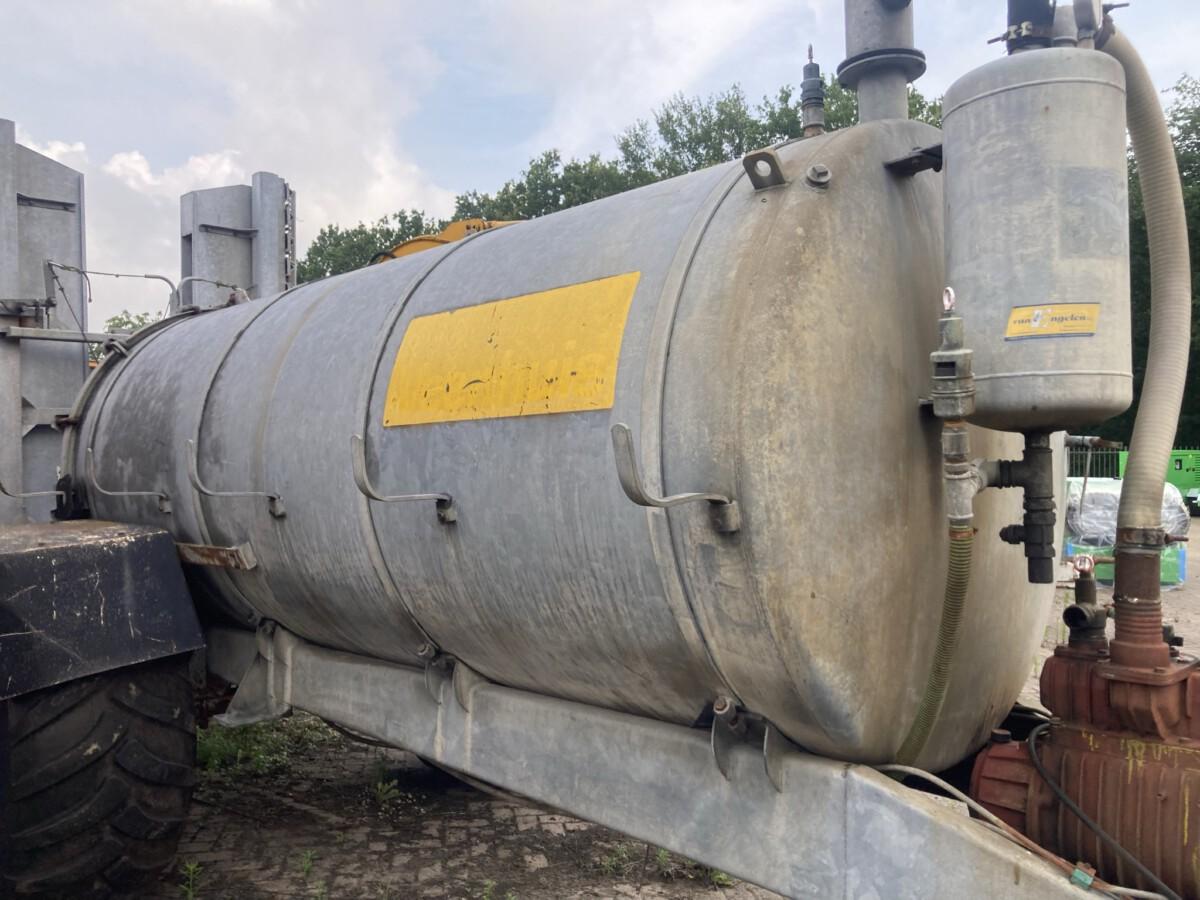 Veenhuis tank met Tobroco bemester