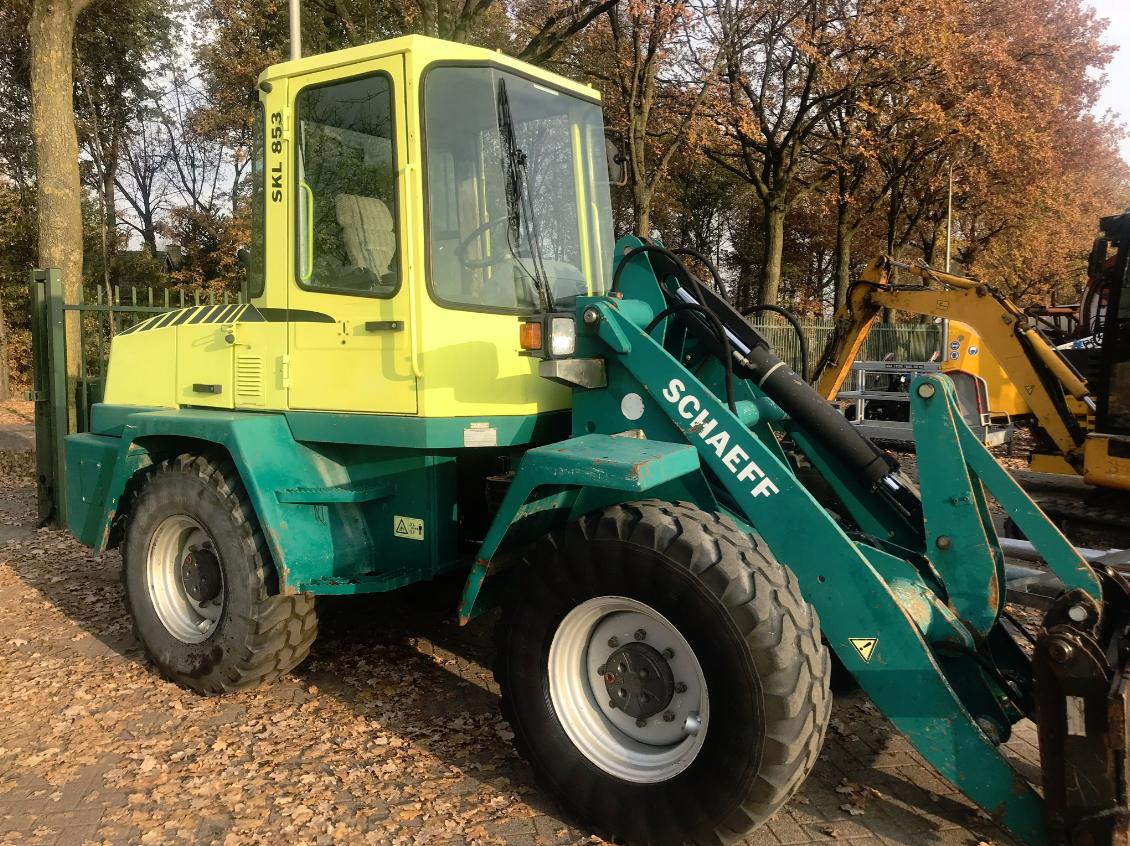 Schaeff Terex SKL 853, verkocht