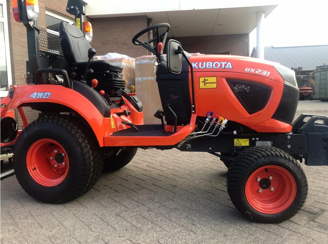 Kubota BX231, nieuw